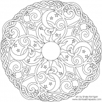 Christmas-mandala-coloring-pages