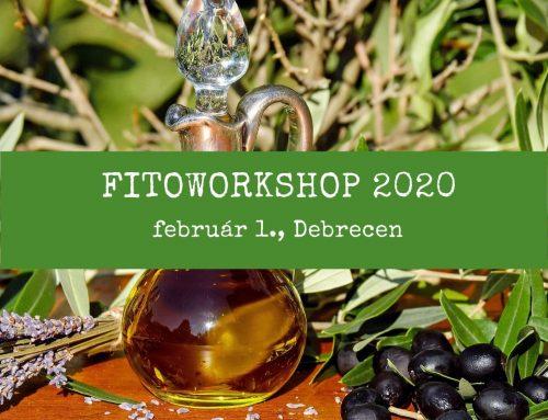 Fitoworkshop 2020 – Debrecenben is!